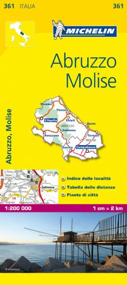 Michelin Local Maps of Italy 1:200,000